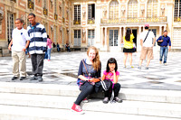 My little princesses at Versailles